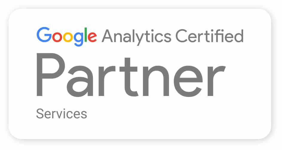 google analytics partner badge